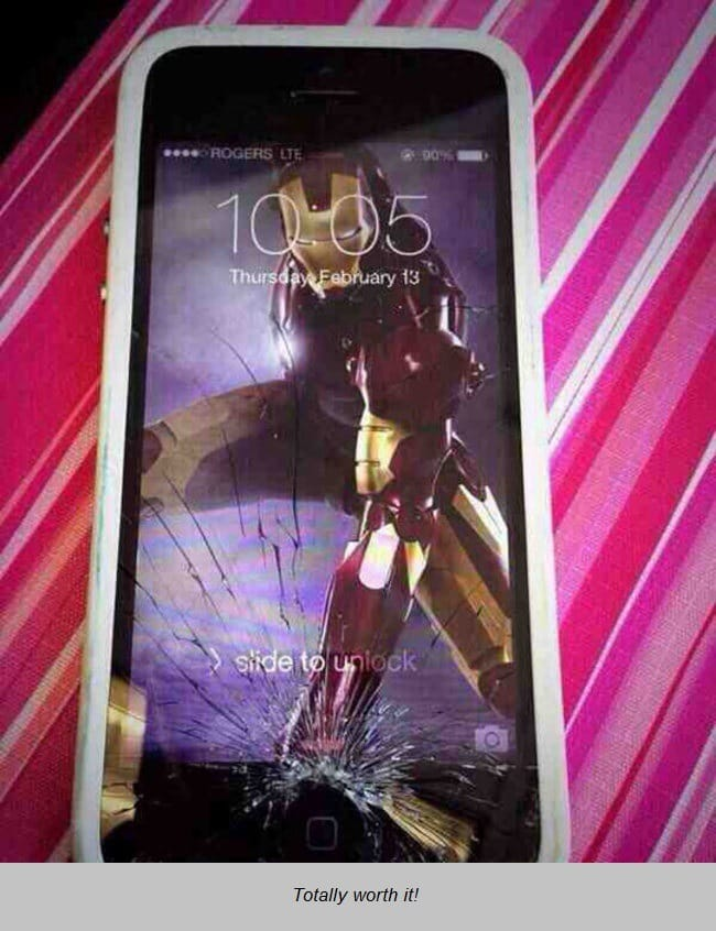 Iron Man Iphone