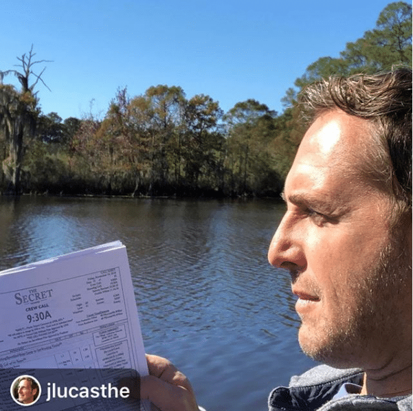 Josh Lucas reading script for The Secret: Dare To Dream
