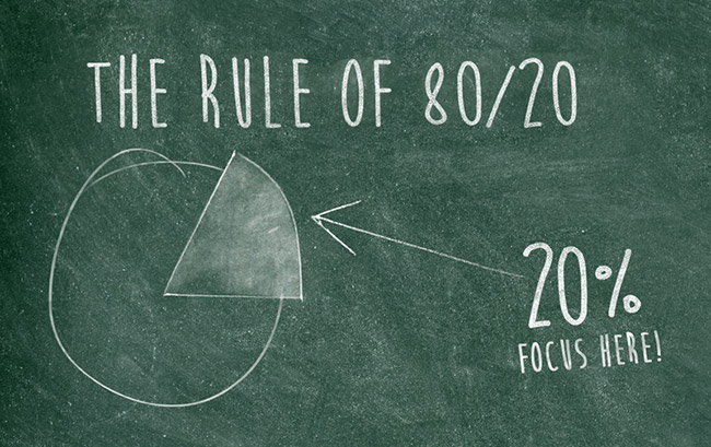 The Rule Of 80 20