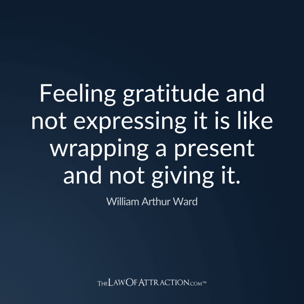 Gratitude Quote By William Arthur Ward