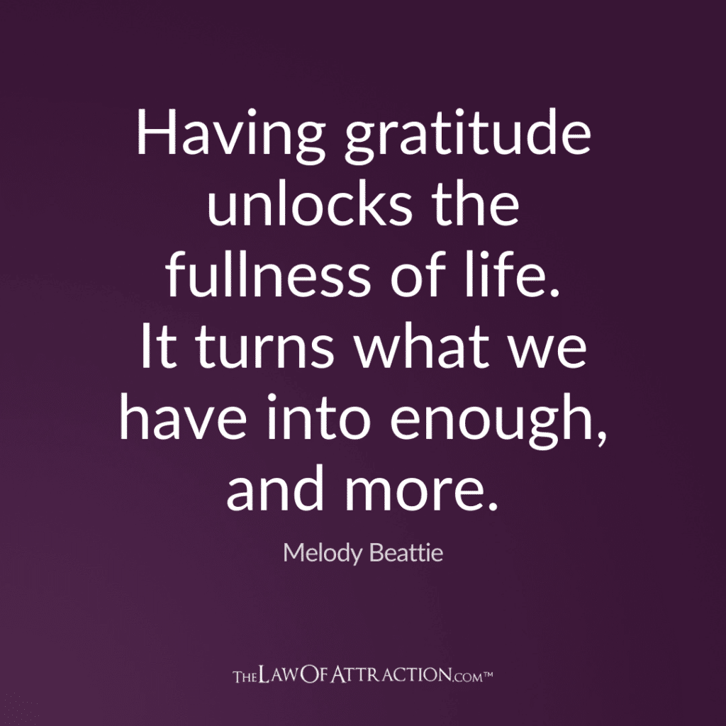 Gratitude Quote By Melody