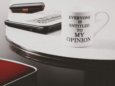 Stop Worrying About Opinions
