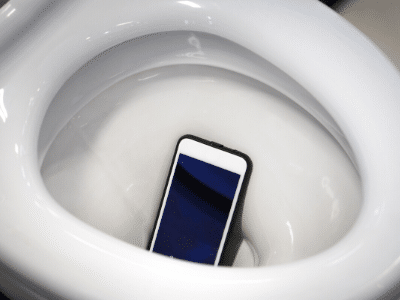 Try not using your phone!