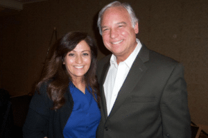 Jack Canfield and Sonia Ricotti