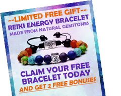 Claim Your FREE Reiki Energy Healing Bracelet Now!