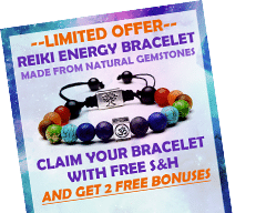 Free H&S When You Claim Your Reiki Energy Healing Bracelet Now!