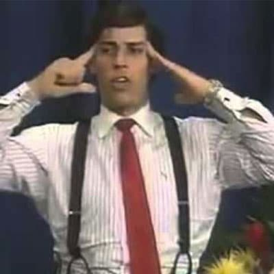 Tony Robbins early career